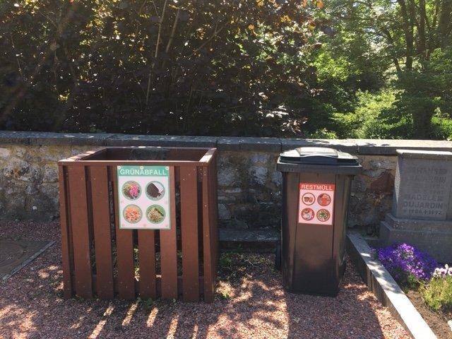 Friedhof - Abfallkonzept
